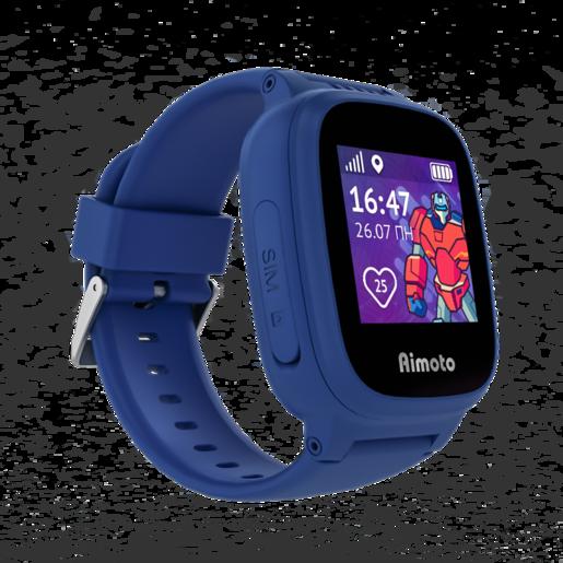 """AIMOTO Kid Умные часы-телефон с GPS """"Робот"""" - Синий"""
