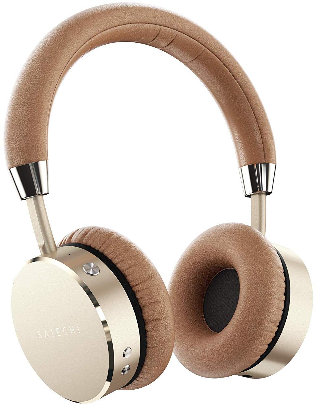 Bluetooth-наушники с микрофоном Satechi Aluminum ST-AHPG (Gold)