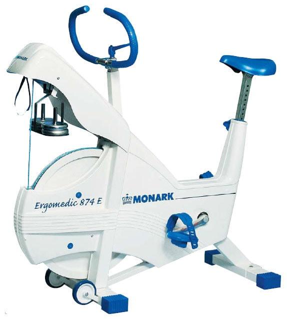 Вертикальный велотренажер Monark Ergomedic 874E