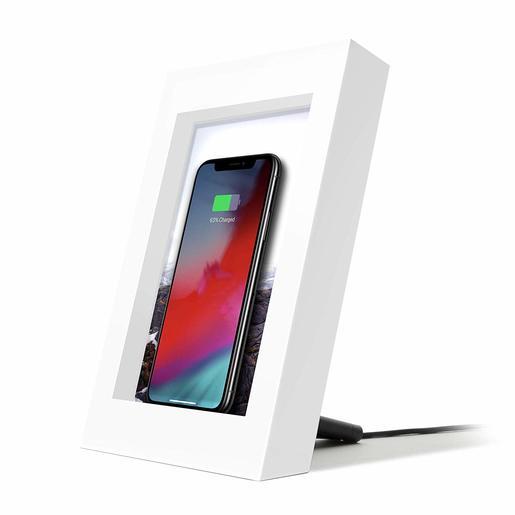 Беспроводное зарядное устройство Twelve South PowerPic для мобильных устройств. Цвет белый.