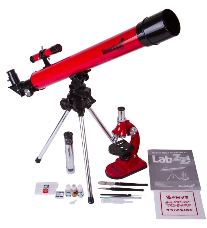 Комплект Levenhuk LabZZ MT2: микроскоп и телескоп