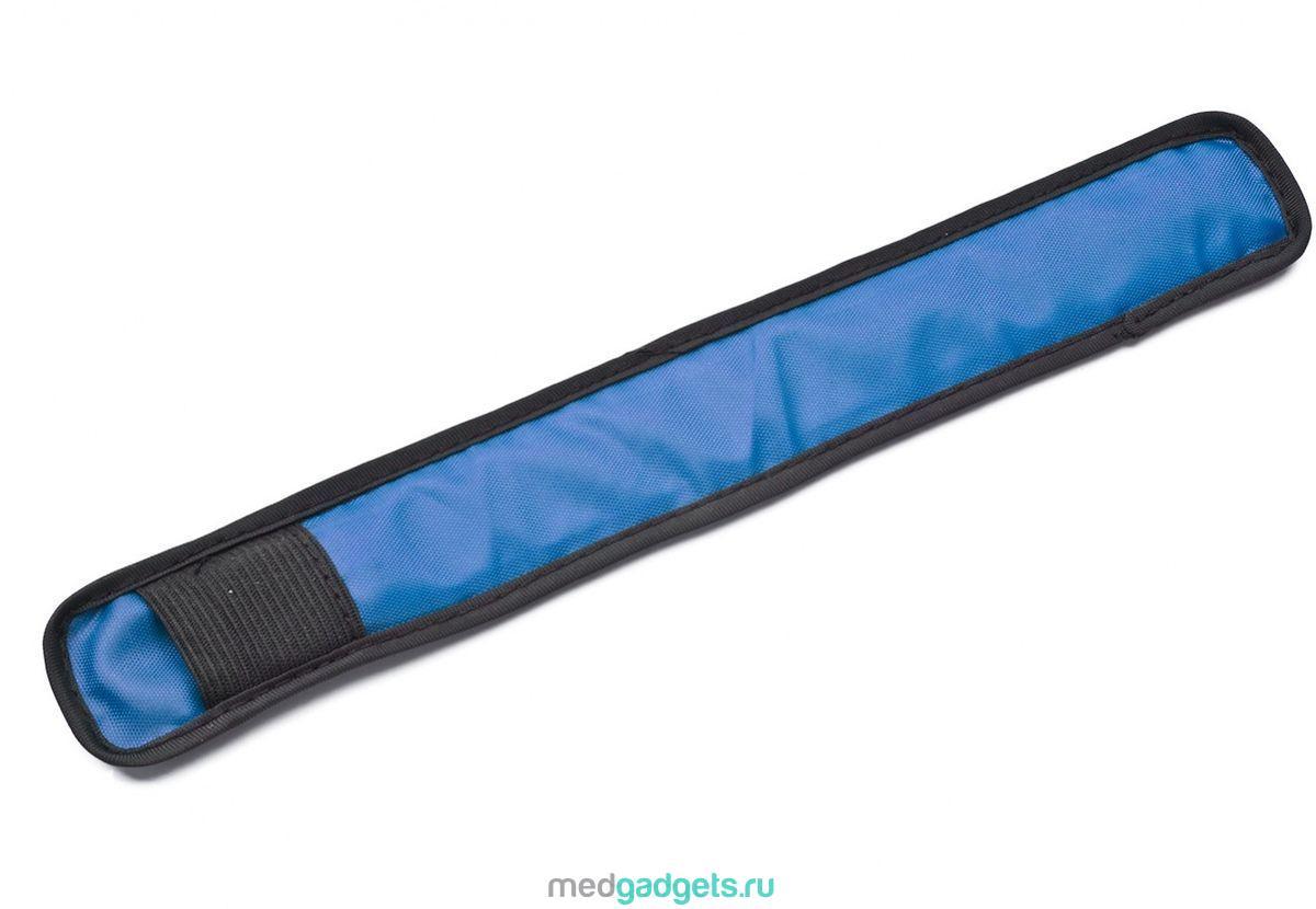 """Слэп-лента """"Bradex"""", со светодиодной подсветкой, цвет: синий, черный"""