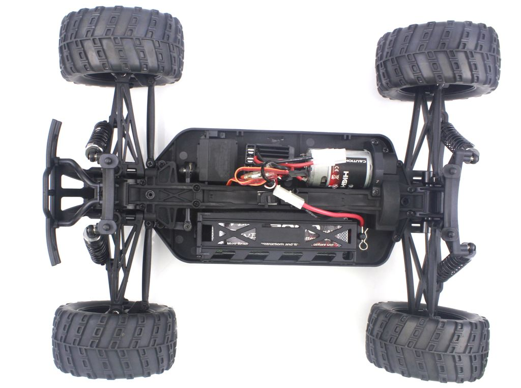Iron Track Радиоуправляемая машина Монстр 1/10 4WD Электро - Iron Track Bowie RTR, Влагозащита, Аккумулятор и З/У