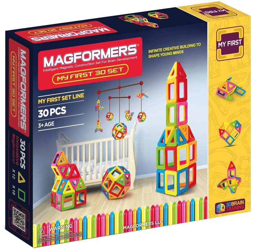 Магнитный конструктор Magformers My First 30 (702001)