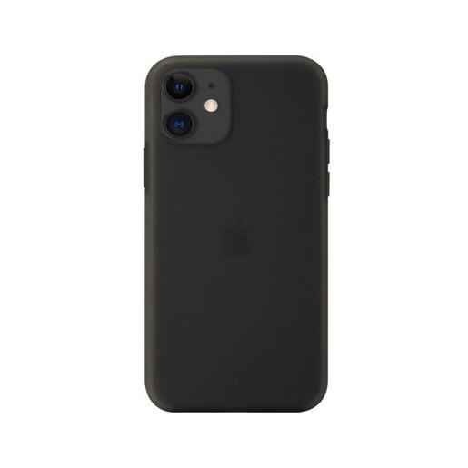Чехол SwitchEasy Skin для iPhone. Цвет прозрачный черный.