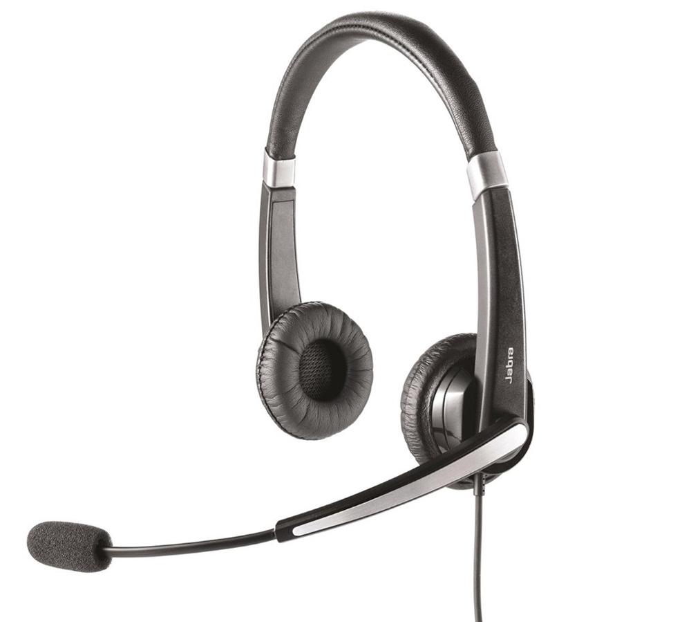 Проводная гарнитура Jabra UC Voice 550 Duo USB (5599-829-209)