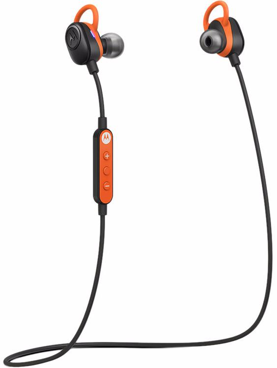 Беспроводная гарнитура Motorola VerveLoop Plus (Black/Orange)