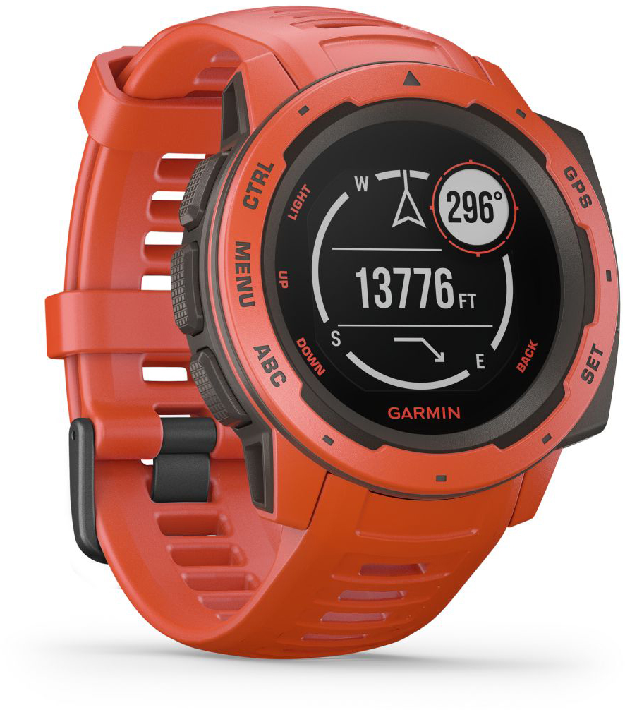 Умные часы Garmin Instinct 010-02064-02 (Flame Red)