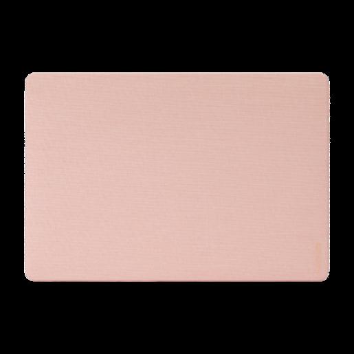 """Защитные накладки Incase Textured Hardshell in Woolenex для ноутбука MacBook Pro 16"""". Материал пластик, отделка из ткани. Цвет розовый."""