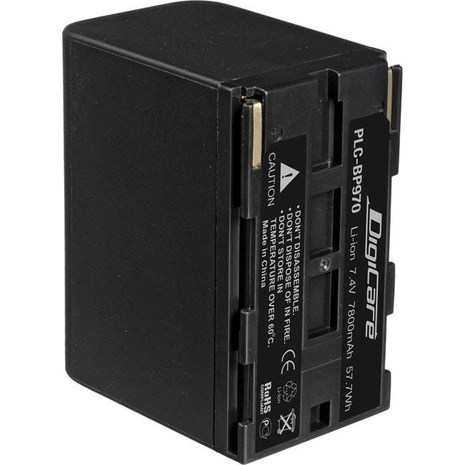 Аккумулятор DigiCare PLC-BP970 / BP-970,BP-975 для видеокамер EOS C, XF, XH, XL