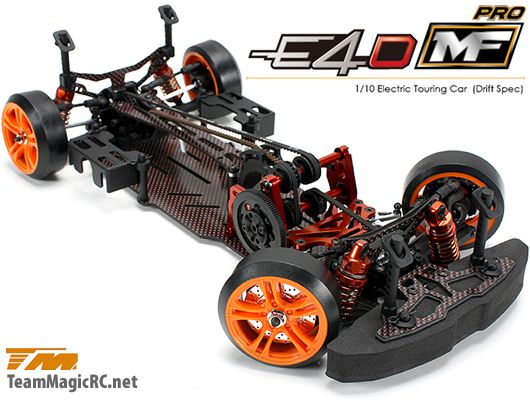Team Magic Шасси дрифт 1/10 Electric - 4WD Team Magic E4D-MF Pro Competition Version kit