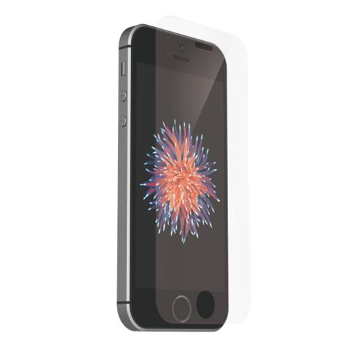 Just Mobile TENC Shield на экран для iPhone SE. Имеет функцию восстановления от царапин.