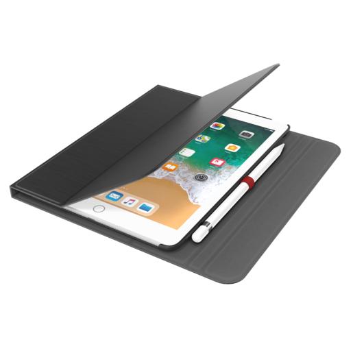 """Чехол-книжка LAB.C Slim Fit для iPad 9.7"""" 2018-2017. Материал полиуретан. Цвет черный."""