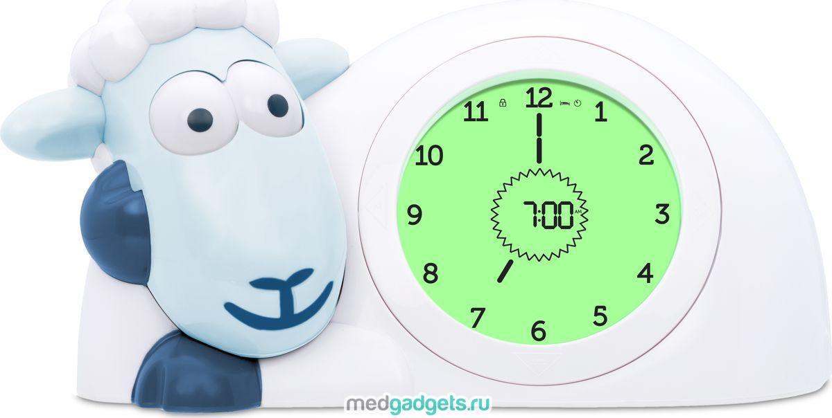 ZAZU Настольные часы детские Ягнёнок Сэм цвет синий