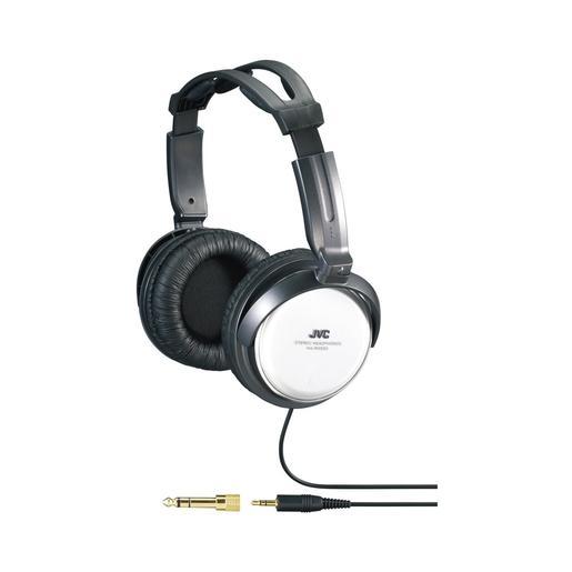 Наушники JVC полноразмерные высококачественные, модель HA-RX500-E. Цвет: черный/белый JVC Наушники полноразмерные высококачественные, модель HA-RX500-E. Цвет: черный/белый