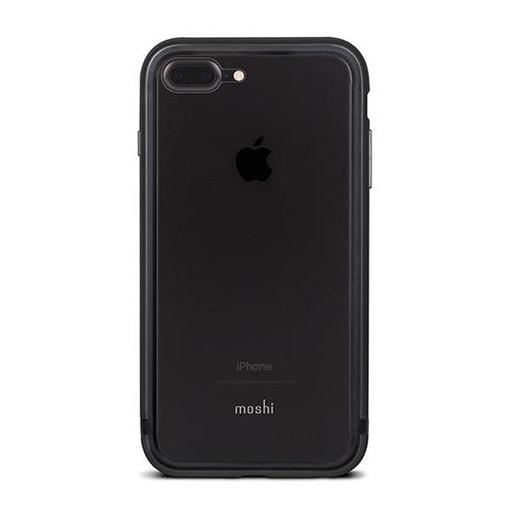 Moshi Luxe для iPhone 7 Plus. Материал пластик/алюминий. Цвет черный.