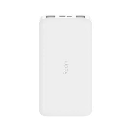 Внешний аккумулятор XIAOMI Redmi Power Bank 10000 mAh Micro-USB/USB-C (PB100LZM) QC3.0 (2xUSB) Белый