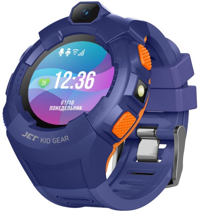 Детские умные часы Jet Kid GEAR (Blue/Orange)