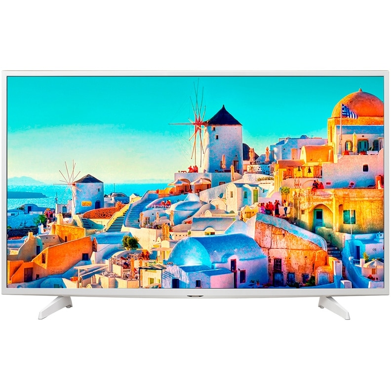 Телевизор LED LG 43UH619V, 4K Ultra HD, белый