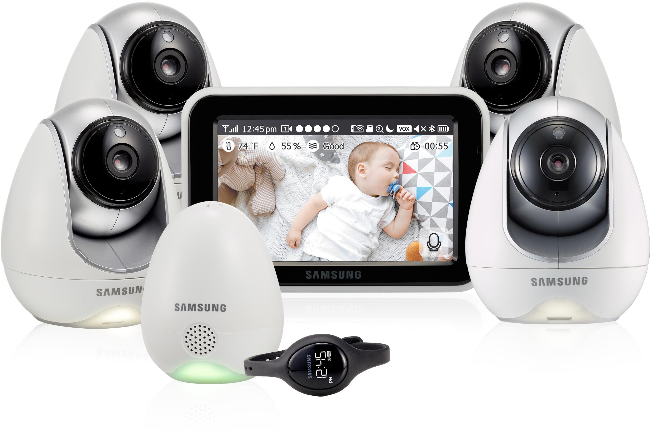 Видеоняня Samsung SEW-3057WPX4 4 шт (White)