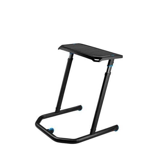 Стол с креплением для тренажера Wahoo KICKR с подставкой для ноутбука. Материал сталь.