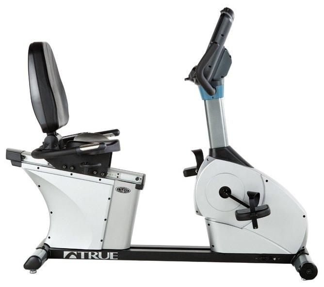 Горизонтальный велотренажер True Fitness CS400R-X15TFT