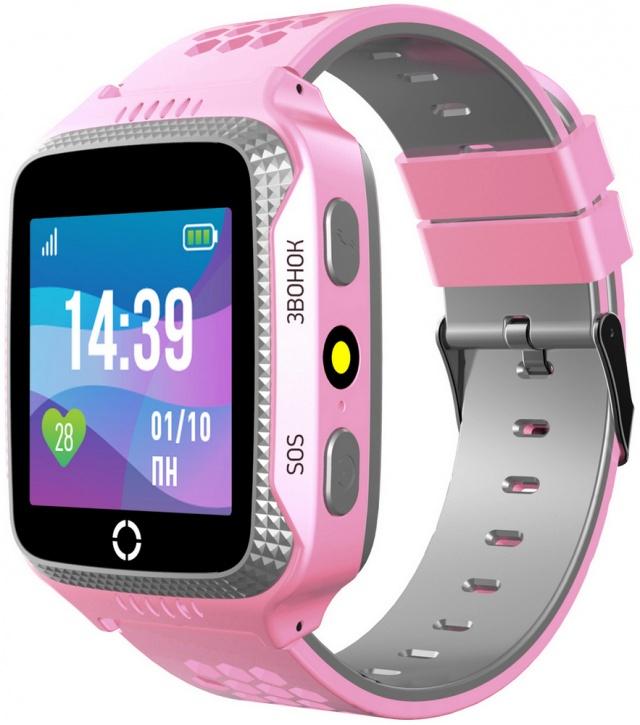 Детские умные часы Jet Kid SCOUT (Pink/Grey)
