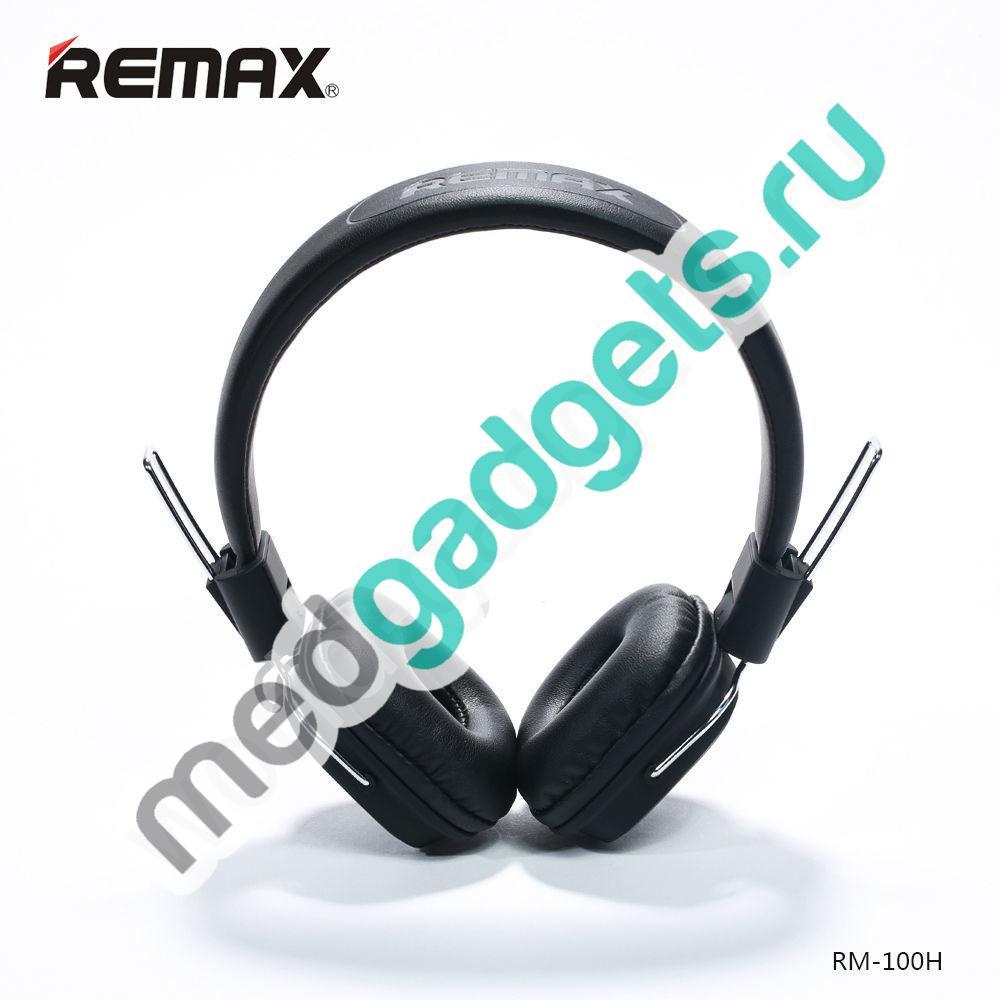 Наушники REMAX RM-100H (черный)