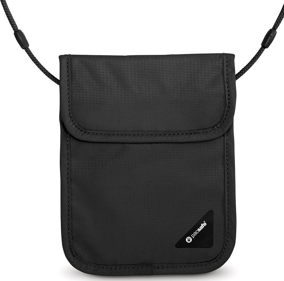 Нательный потайной кошелек Pacsafe Coversafe X75 (Black)