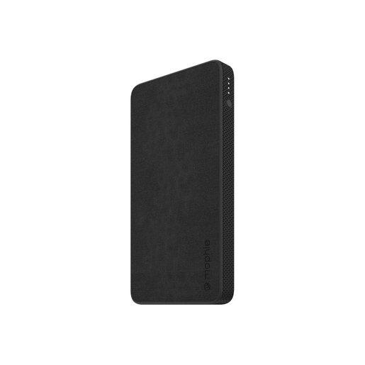 Внешний портативный аккумулятор Mophie Universal Battery Powerstation with PD 10K. Порты: USB Type-A, USB Type-C. Тип аккумулятора: литий-полимерный. Емкость аккумулятора: 10 000 мАч. Питание от USB. Внешняя отделка: ткань. Цвет: черный.