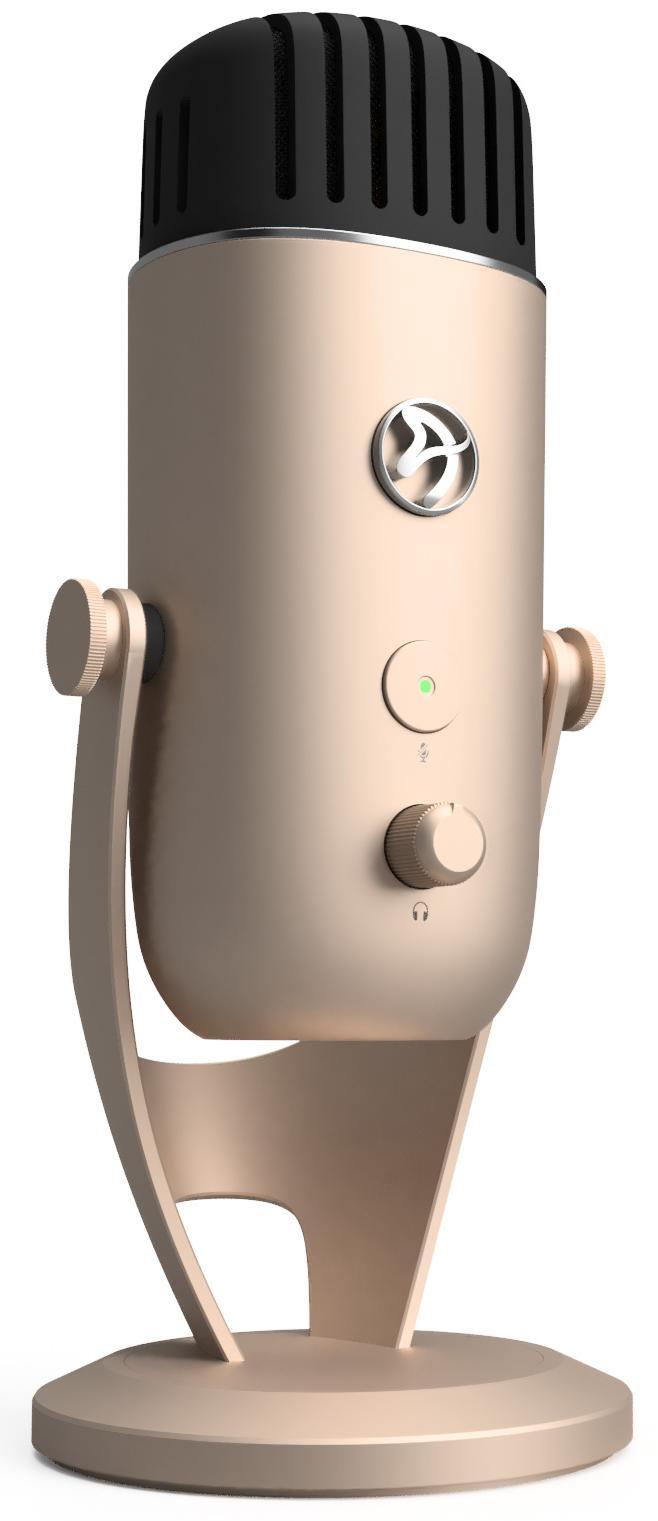 Цифровой микрофон Arozzi Colonna (Gold)