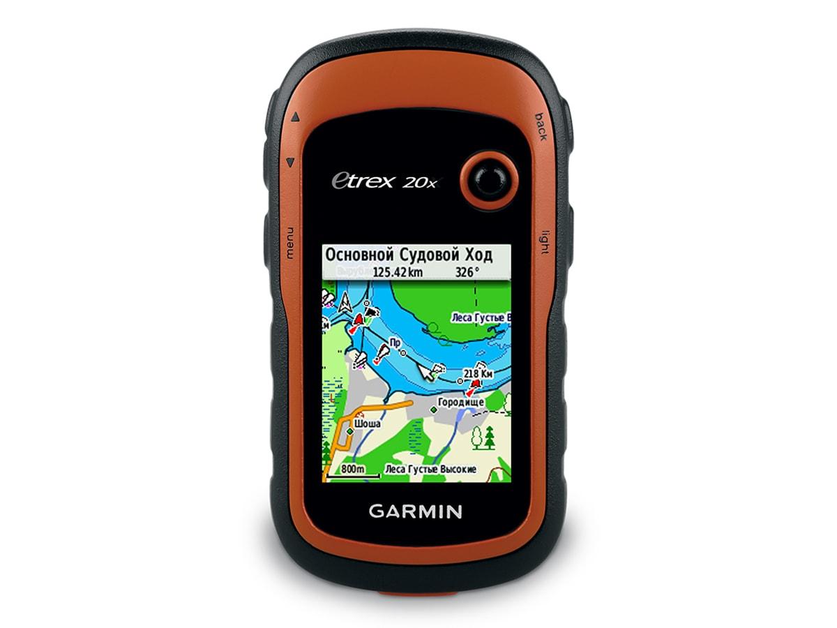 Универсальный навигатор Garmin Etrex 20X