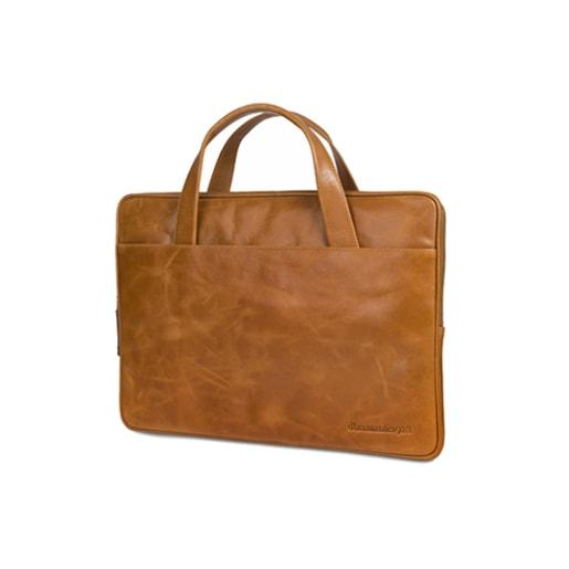 """Сумка dbramante1928 Silkeborg для ноутбуков 13"""" дюймов. Материал натуральная кожа. Цвет светло-коричневый."""