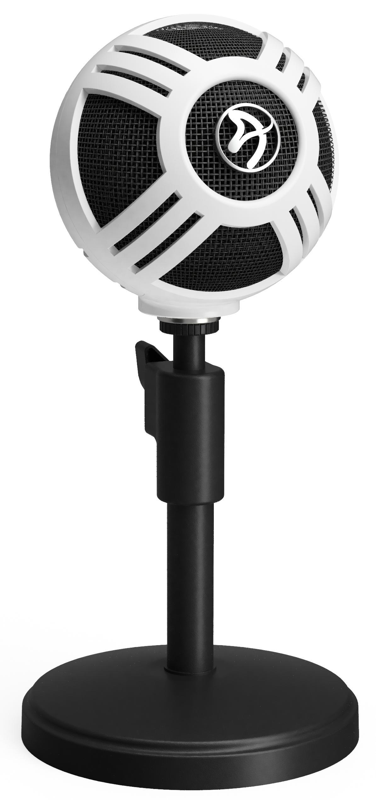 Цифровой микрофон Arozzi Sfera (White)