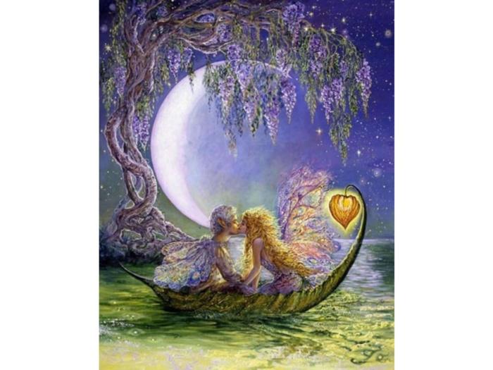 Деревянный пазл DaVICI Глициния луны