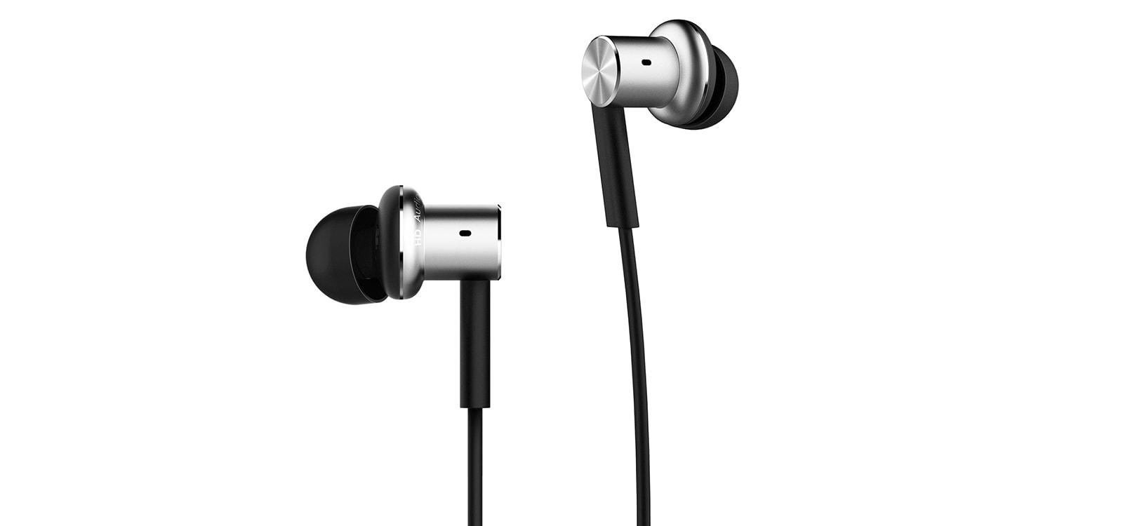 Стерео-наушники Xiaomi Hybrid Dual Drivers Earphones (QTER01JY) Silver/Black