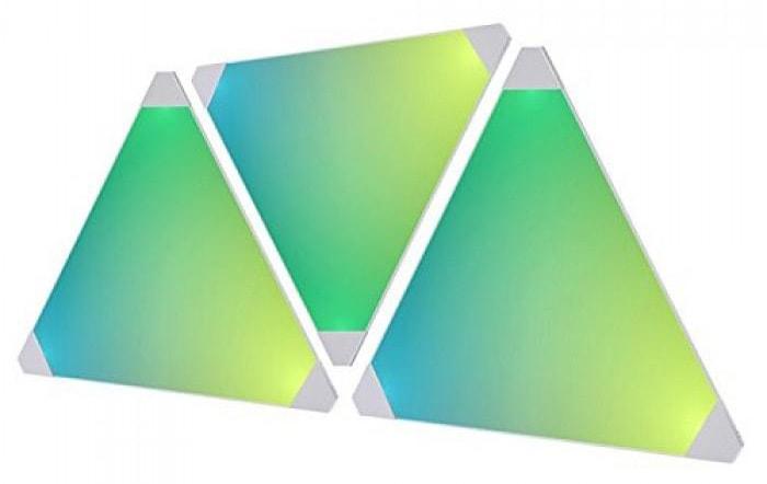 Дополнительные светодиодные панели для светильника Nanoleaf Aurora (NL22-0001TW-3PK)