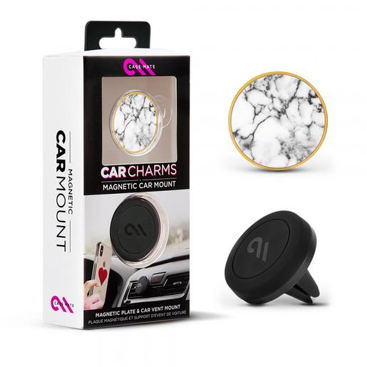 Автомобильный магнитный держатель Case-Mate для смартфона. Цвет белый.