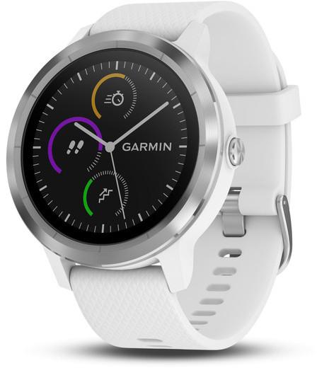 Умные часы Garmin Vivoactive 3 010-01769-22 (White/Steel)