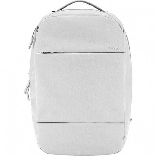 """Рюкзак Incase City Compact Backpack with Diamond Ripstop для ноутбуков размером до 15"""" дюймов. Материал полиэстер. Цвет серый."""