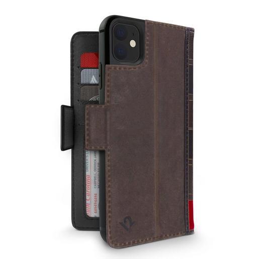 Чехол-книжка Twelve South BookBook Vol 2 для iPhone 11 Pro Max. Материал натуральная кожа. Цвет коричневый.