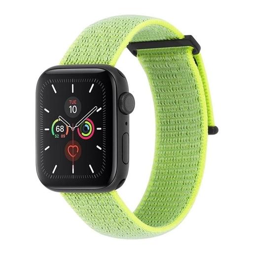 Ремешок Case-Mate для Apple Watch 42-44 мм 1, 2, 3, 4, 5 серии. Цвет неоновый зеленый.