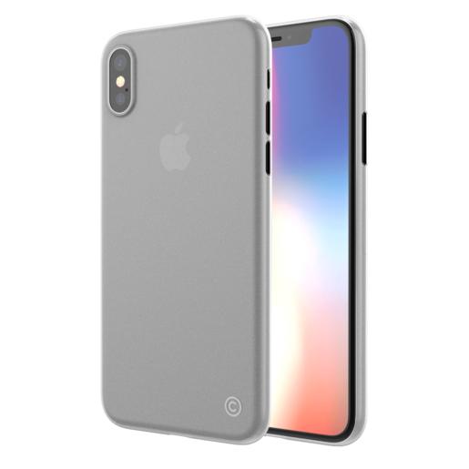 Чехол LAB.C 0.4 для iPhone XS/X. Материал пластик. Цвет прозрачный матовый.