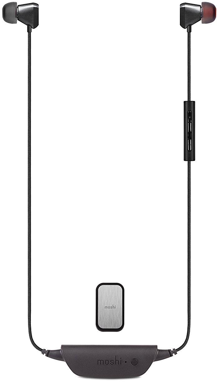 Беспроводные наушники Moshi Vortex Air 99MO035023 с микрофоном (Titanium/Black)