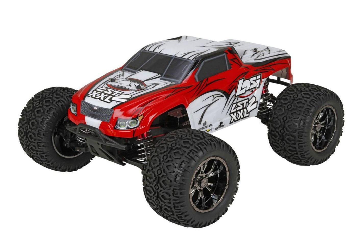 Team Losi Радиоуправляемая машина Трак 1/8 - LST XXL-2 (AVC 4WD) (Бензиновый)