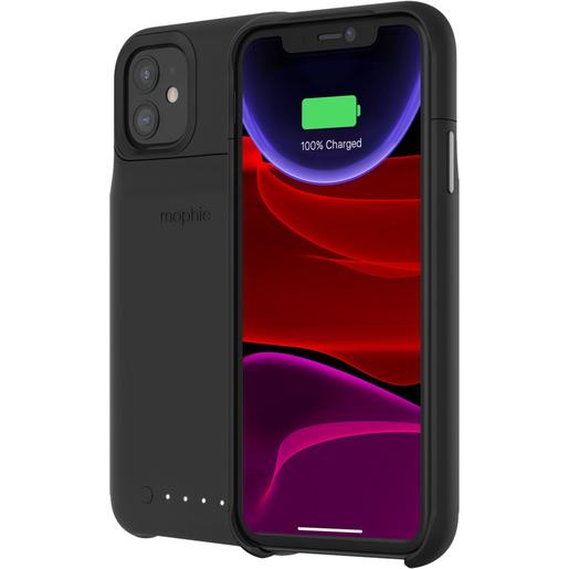 Чехол Mophie Juice Pack со встроенным аккумулятором для iPhone 11. Цвет черный.