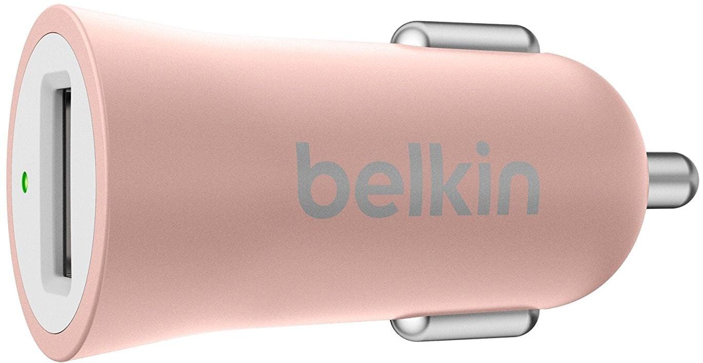 Belkin Universal Car Charger (F8M730BTC00) - автомобильное зарядное устройство (Rose Gold)