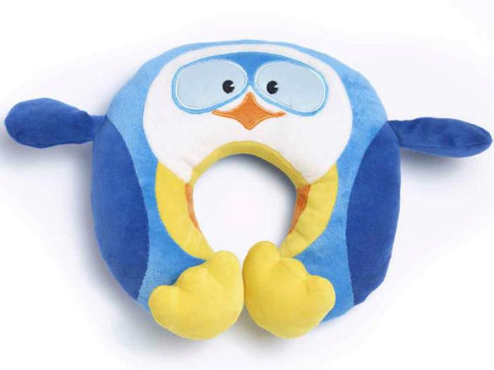 Детская подушка для путешествий Travel Blue Puffy the Penguin Travel Neck Pillow Пингвин (281)