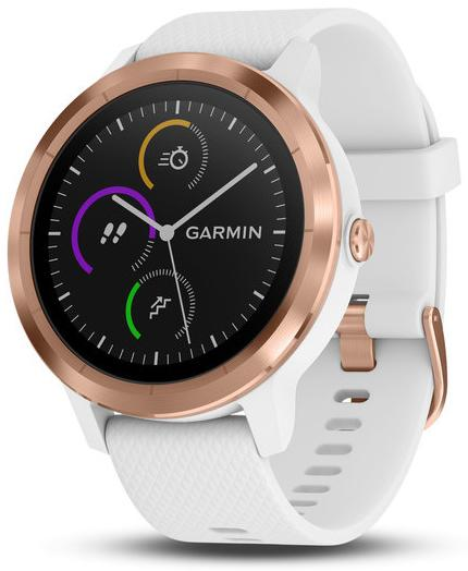 Умные часы Garmin Vivoactive 3 010-01769-07 (Rose Gold/White)