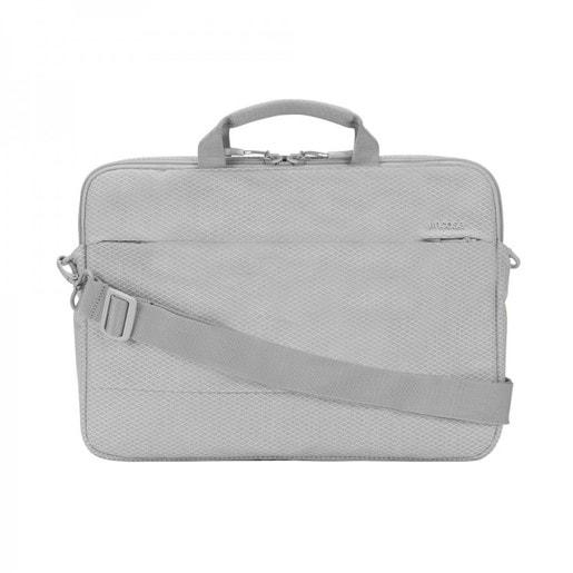 """Сумка Incase City Brief 13"""" with Diamond Ripstop для ноутбуков размером до 13"""" дюймов. Размер изделия 37 x 28 x 6 см. Цвет серый."""